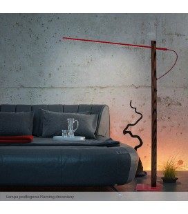 Flaming  floor lamp