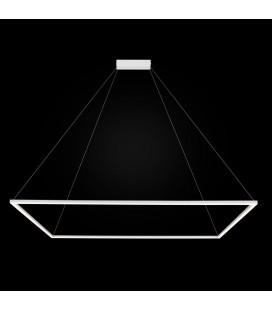 Akira LED żyrandol duży - zapalona