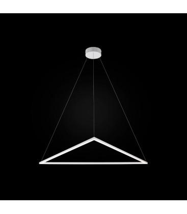 Origami LED żyrandol mały - zapalona