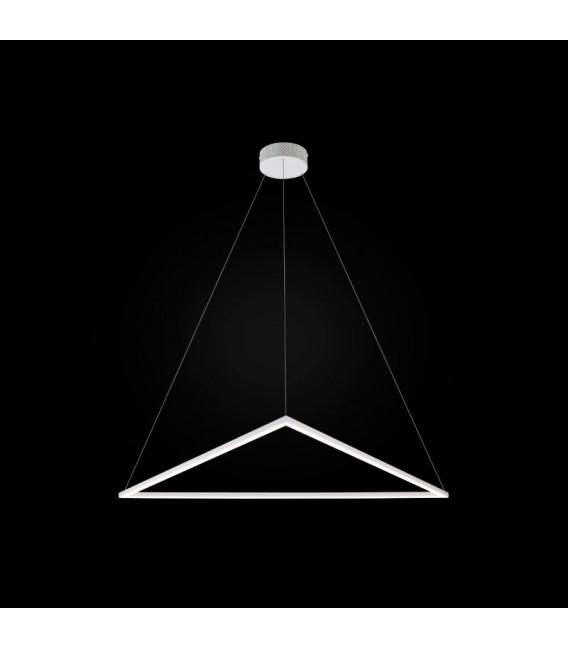 Origami LED żyrandol duży - zapalona