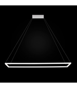 Edo LED żyrandol duży - zapalona