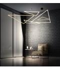 Origami LED suspension small