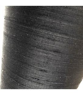 Seda Salvaje Negro 100% raw silk