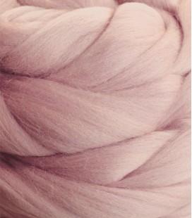 Wełna różowa