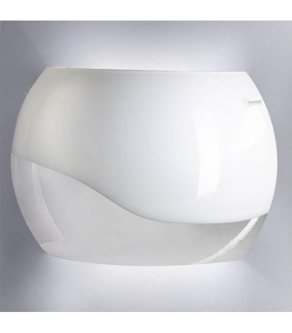Galaxia kinkiet opal/transparentny