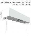 Echo Vertical żyrandol 80