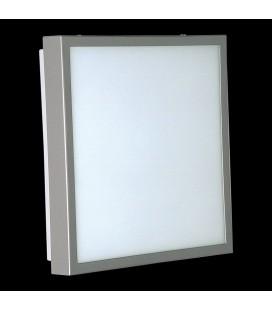 Okno kinkiet lakier szary świetlówka