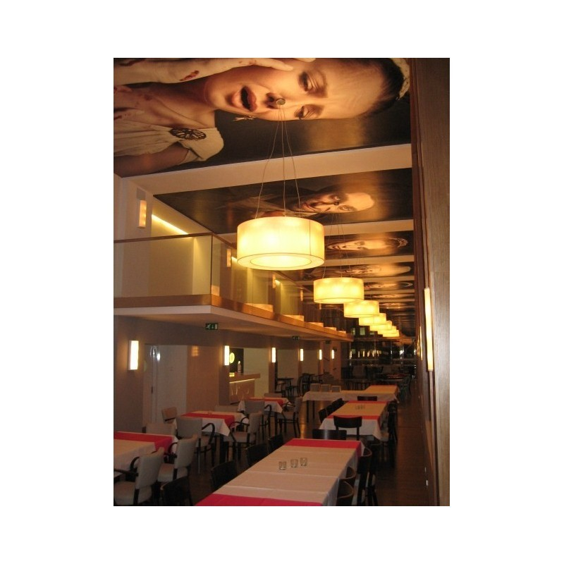 Restauracja OLYMPIA, Bratysława (projekt wykonany przez SMART LIGHT)