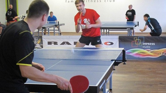 1st Table Tennis Competition in Oxygen Fitness