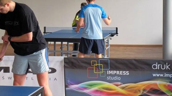 I Otwarty Turniej Tenisa Stołowego w Oxygen Fitness