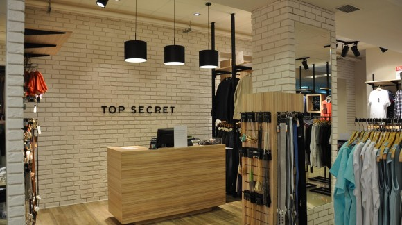 """Sklep Odzieżowy """" Top Secret """""""