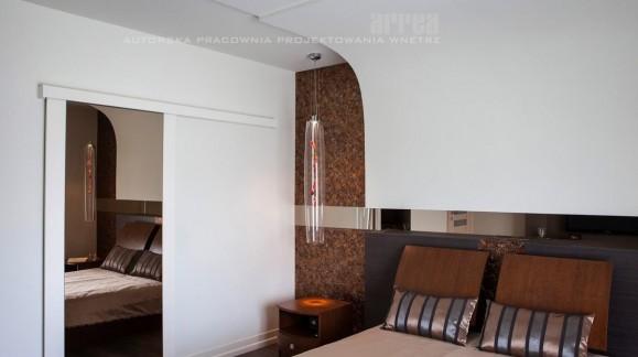 Apartament (projekt wykonany przez ARREA)