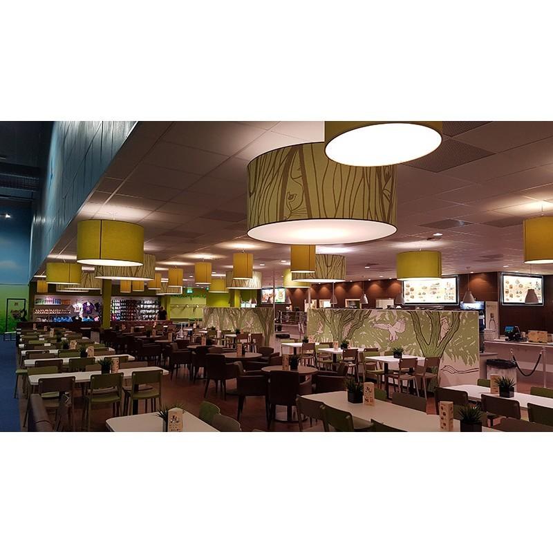 Food court w Leos Borlänge - Szwecja