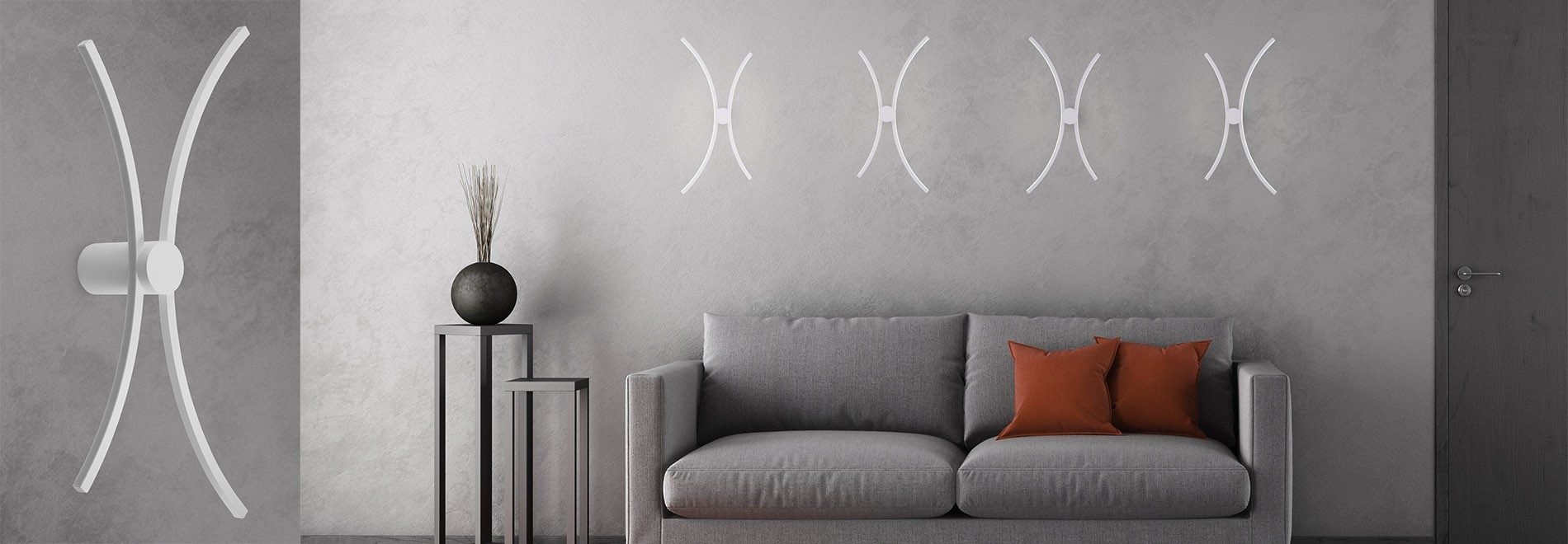 ECHO X Wall Lamp/Ceiling Lamp