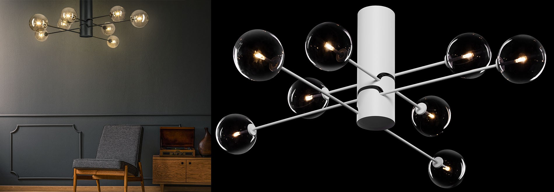 Oslo ceiling lamp