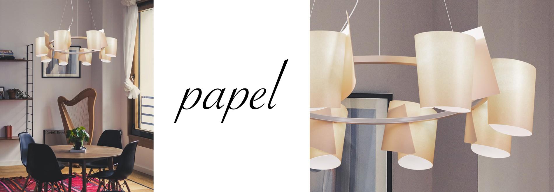 Żyrandol Paper